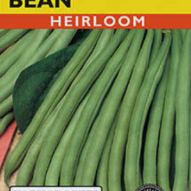 BEAN BUSH BLUE LAKE 274 HEIRLOOM SEEDS