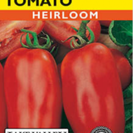 TOMATO POLE SAN MARZANO HEIRLOOM SEEDS