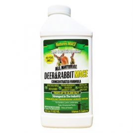 Nature's Mace All Natural Deer & Rabbit Repellent Concentrated Formula – 40oz