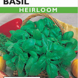 Genovese Basil Heirloom Seeds